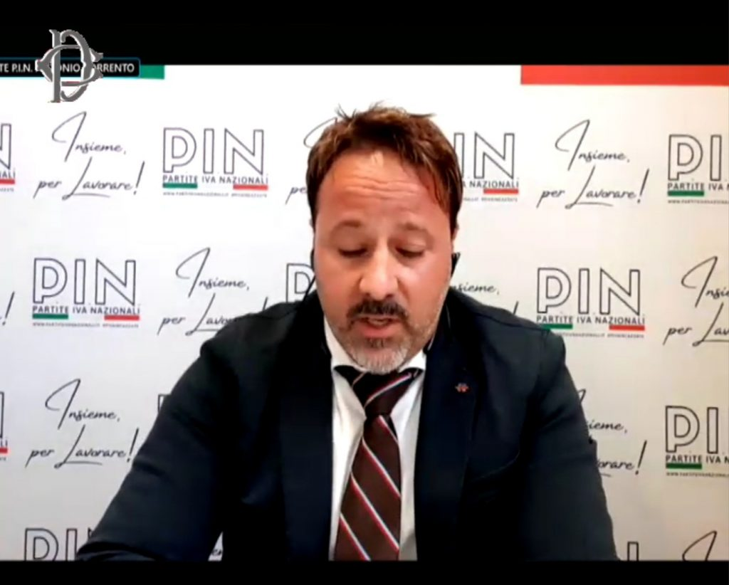 Antonio Sorrento Presidente PIN